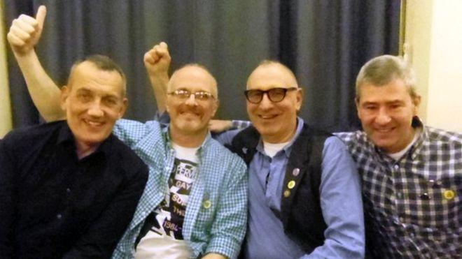 Dave Lewis, Ray Godspeed, Jonathan Blake, Brett Haran